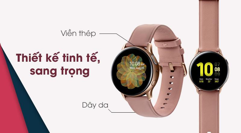 Đồng hồ thông minh Samsung Galaxy Watch Active 2 sang trọng