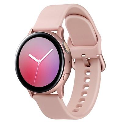 Đồng hồ thông minh Samsung Galaxy Watch Active 2 40mm viền nhôm dây silicone hồng