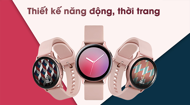 Đồng hồ thông minh Samsung Galaxy Watch Active 2 thời trang