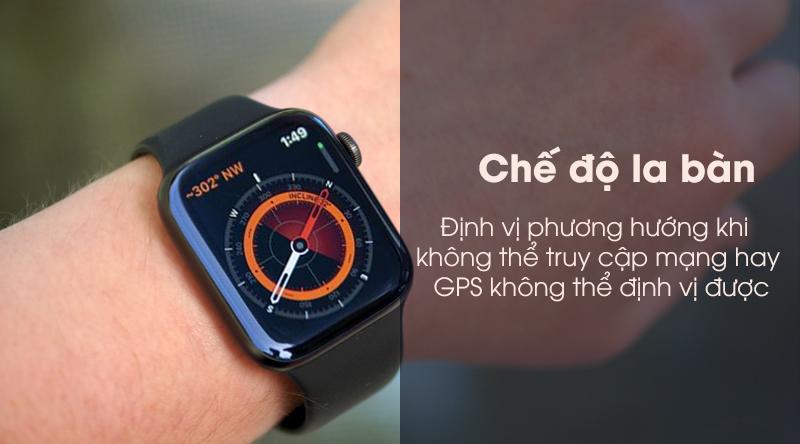 Apple Watch S5 định vị khi không kết nối mạng