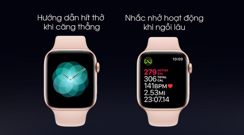 Apple Watch S5 nhắc nhở hoạt động