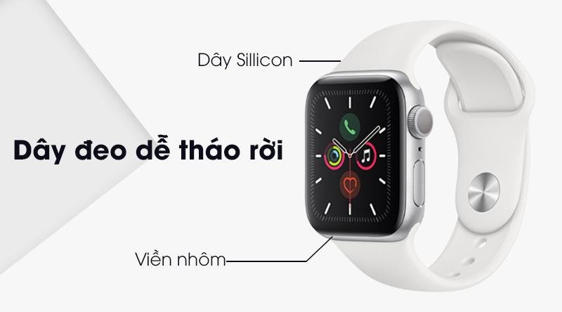 Apple Watch S5 dây đeo mềm mại, ít bám bụi
