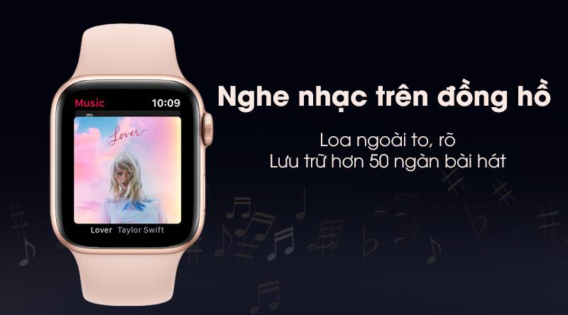Nghe nhạc trực tiếp trên Apple Watch S5