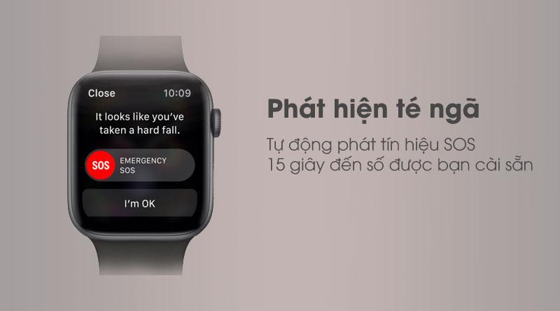 Apple Watch S5 LTE 44mm được trang bị tính năng cảnh báo