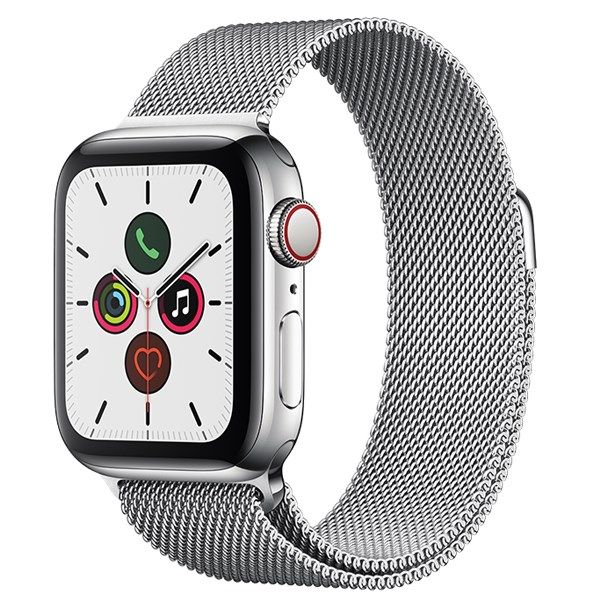 Apple Watch S5 LTE 40mm viền thép dây thép