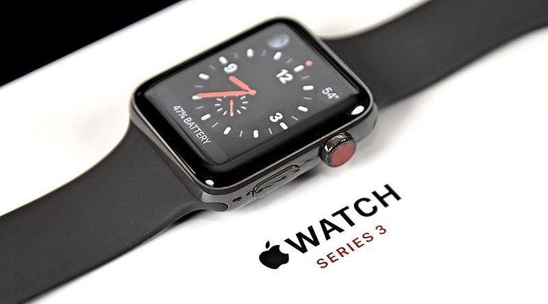 Đồng hồ thông minh Apple Watch S3 LTE màn hình hiển thị chân thực