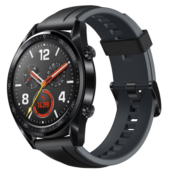 Huawei Watch GT dây silicone đen