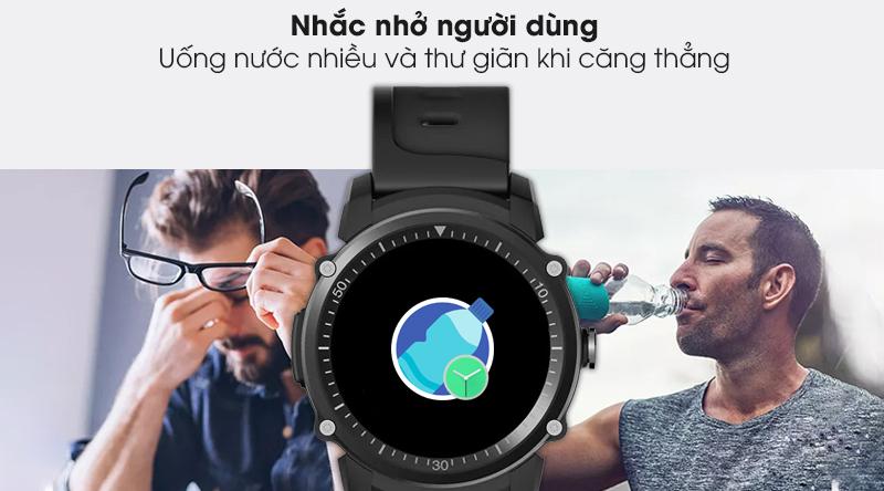 Đồng hồ thông minh BeU KW09 nhắc nhở người dùng uống nước và thư giãn