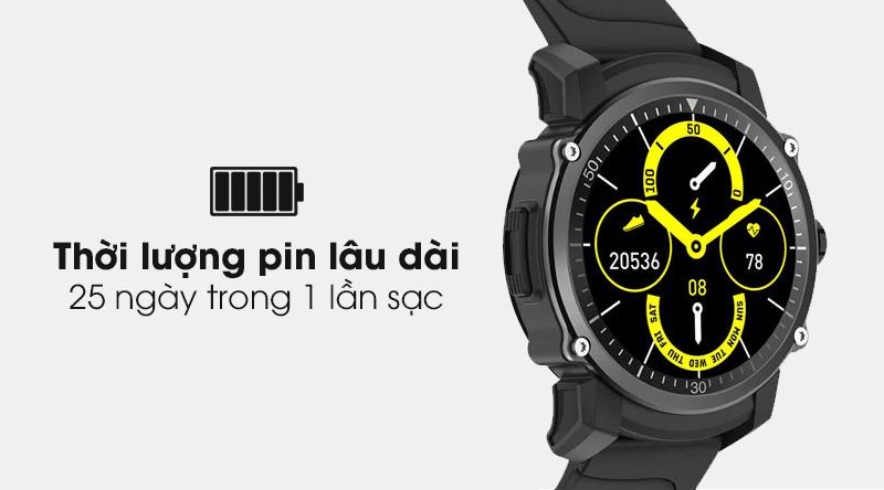 Đồng hồ thông minh BeU KW09 trang bị pin dung lượng lớn