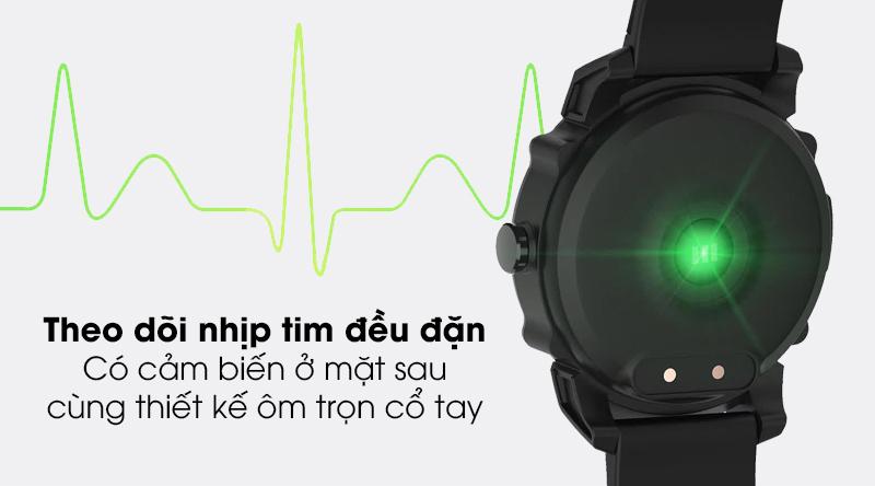 Đồng hồ thông minh BeU KW09 với tính năng theo dõi nhịp tim