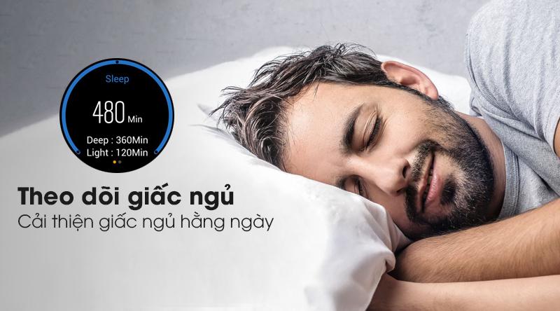 Đồng hồ thông minh BeU KW09 với tính năng theo dõi giấc ngủ