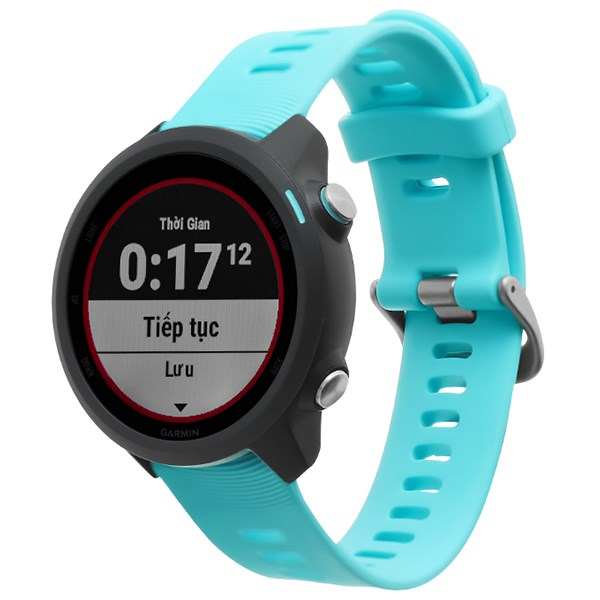 Đồng hồ thông minh Garmin Forerunner 245 Music dây silicone