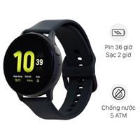 Samsung Galaxy Watch Active 2 40mm viền nhôm dây silicone đen