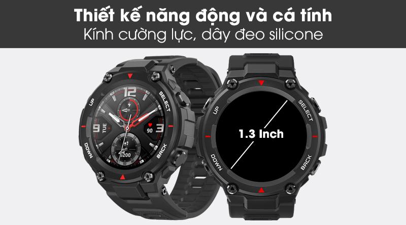 Đồng hồ thông minh Huami Amazfit T-Rex với thiết kế cá tính, trẻ trung