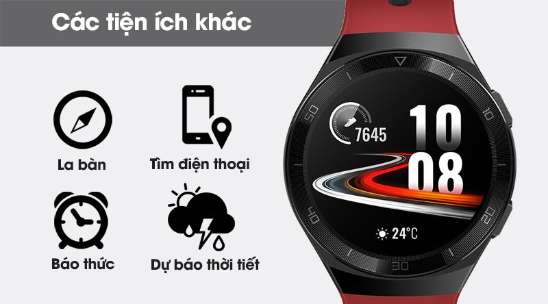 Đồng hồ thông minh Huawei Watch GT 2E 46mm dây silicone còn rất nhiều tính năng tiện ích khác