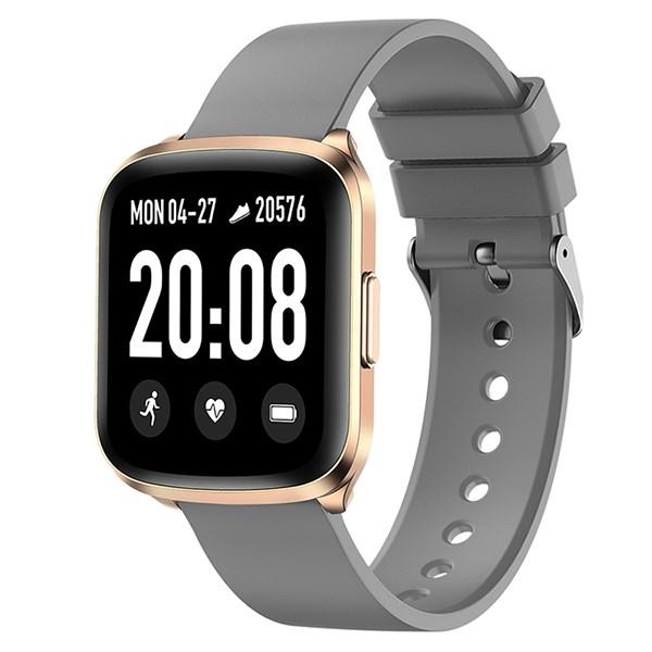 Đồng hồ thông minh BeU Fit KW03 xám