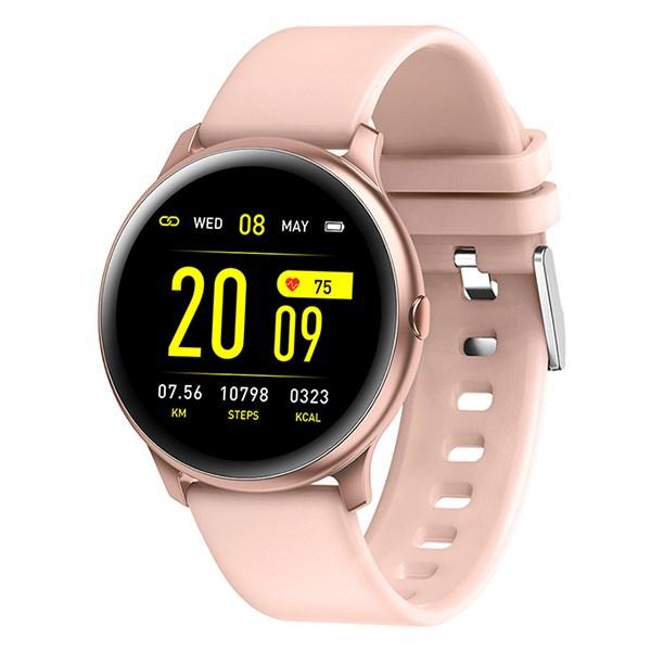 Đồng hồ thông minh BeU Fit KW19 hồng