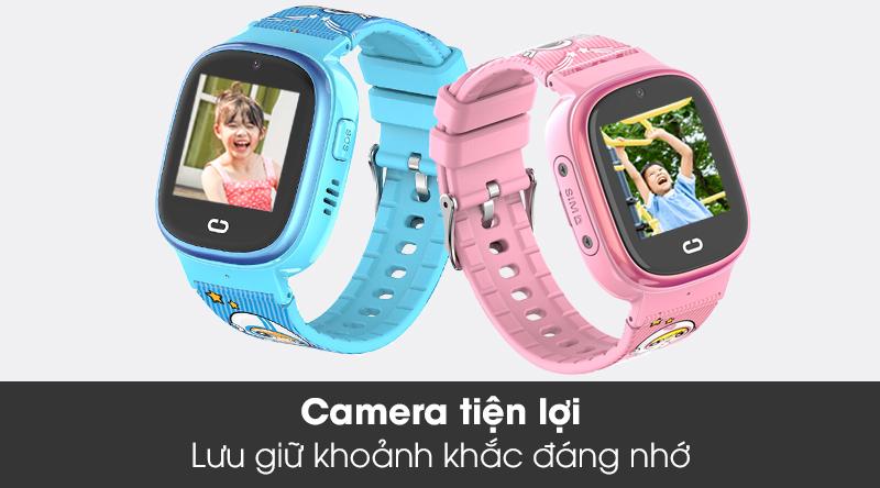 Đồng hồ thông minh trẻ em Kidcare 08S trang bị camera nhỏ gọn