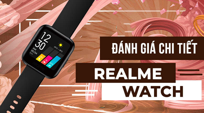 Realme Watch dây silicone