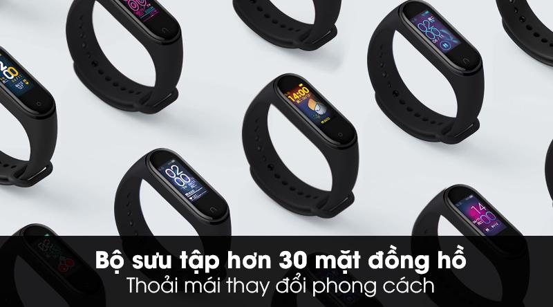 Vòng đeo tay thông minh Mi Band 5 tích hợp hơn 30 giao diện mặt đồng hồ