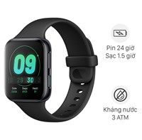 Oppo Watch 41mm dây silicone đen