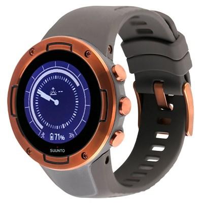 Đồng hồ thông minh Suunto 5 dây silicone xám