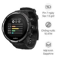 Đồng hồ thông minh Suunto 9 Baro titanium dây silicone