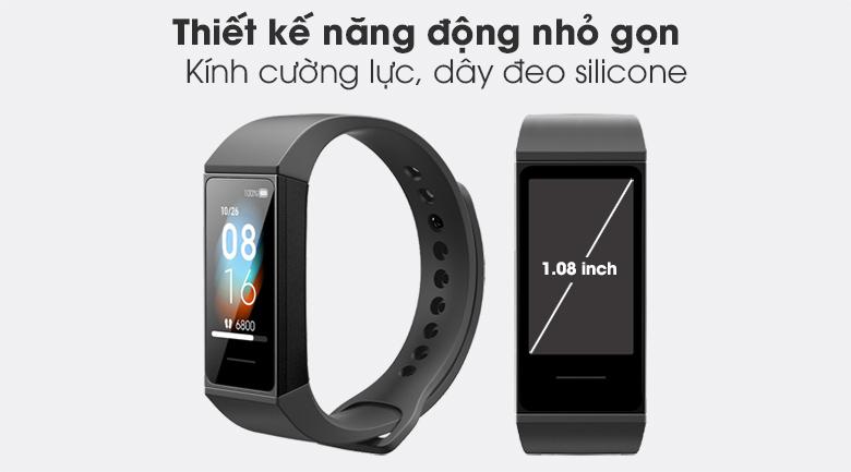 Vòng đeo tay thông minh Mi Band 4C với thiết kế nhỏ gọn, năng động