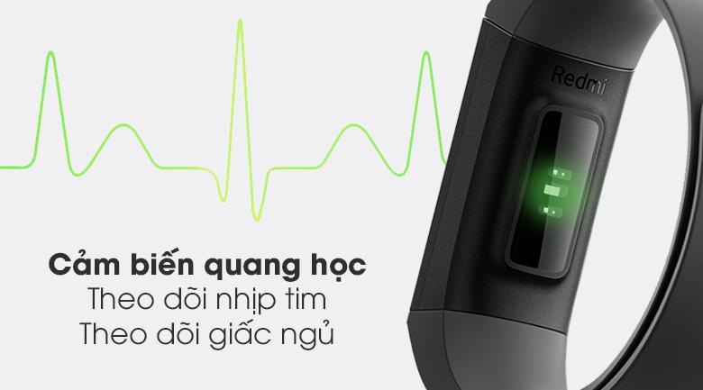 Vòng đeo tay thông minh Mi Band 4C có tính năng đo nhịp tim, theo dõi giấc ngủ
