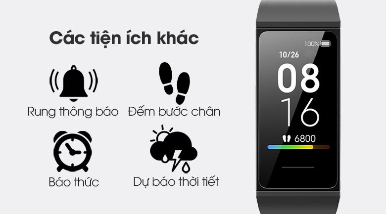 Vòng đeo tay thông minh Mi Band 4C còn rất nhiều tính năng hữu ích khác