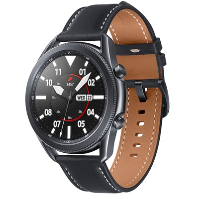 Samsung Galaxy Watch 3 45mm viền thép đen dây da
