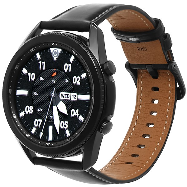 Samsung Galaxy Watch 3 45mm viền thép dây da
