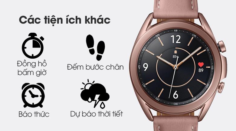 Đồng hồ Samsung Galaxy Watch 3 41mm còn rất nhiều tính năng khác