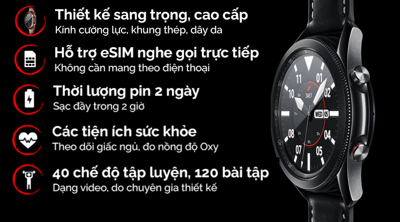 Galaxy Watch 3 LTE 45mm