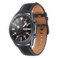 Đồng hồ thông minh Samsung Galaxy Watch 3 LTE 45mm viền thép dây da