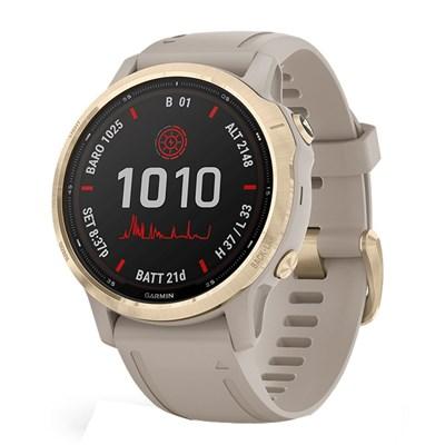 Đồng hồ thông minh Garmin Fenix 6S Pro Solar dây silicone