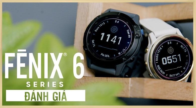 Fenix 6X Sapphire