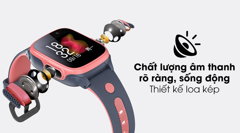 Đồng hồ thông minh trẻ em Abardeen T3 với loa đôi cho âm thanh to và rõ ràng hơn