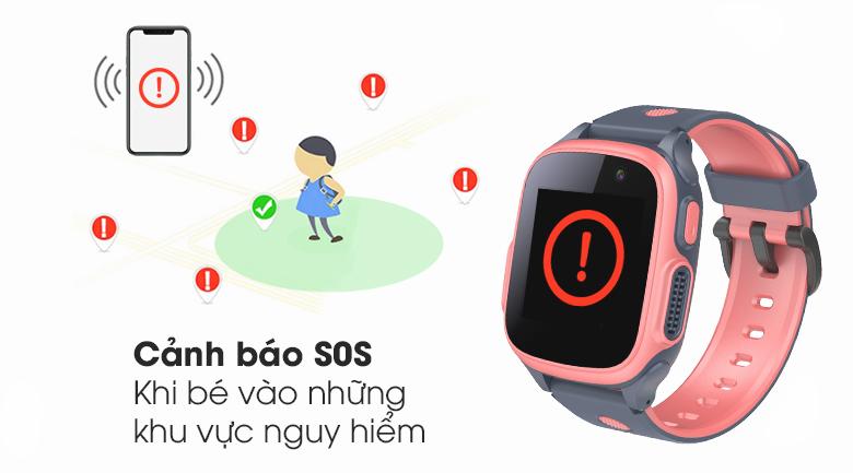 Đồng hồ thông minh trẻ em Abardeen T3 cảnh báo bé tránh xa vùng nguy hiểm