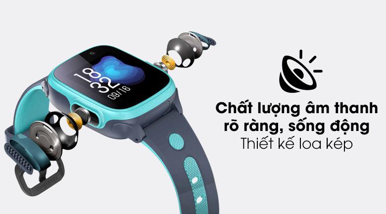 Đồng hồ thông minh trẻ em Abardeen T3 trang bị loa kép giúp chất lượng am thanh tốt hơn