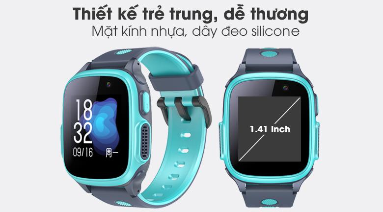 Đồng hồ thông minh trẻ em Abardeen T3 với thiết kế dây đeo thoải mái