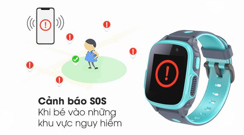 Đồng hồ thông minh trẻ em Abardeen T3 có thể cảnh báo vùng nguy hiểm, bảo vệ an toàn cho bé