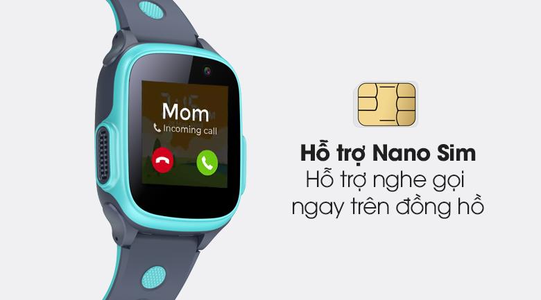 Đồng hồ thông minh trẻ em Abardeen T3 hỗ trợ khe cắm Nano Sim