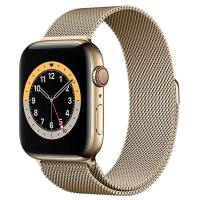 Apple Watch S6 LTE 40mm viền thép dây thép