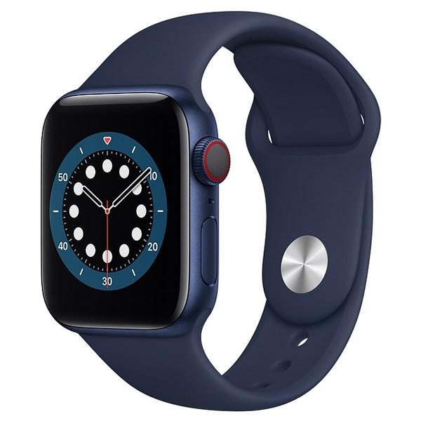 Apple Watch S6 LTE 40mm viền nhôm dây cao su