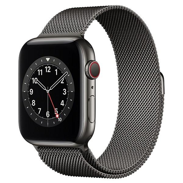 Apple Watch S6 LTE 44mm viền thép dây thép