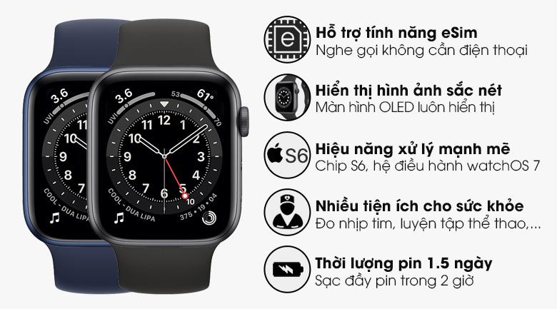 Apple Watch S6 LTE 44mm