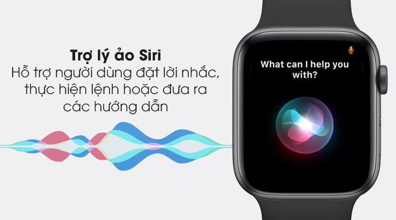 Apple Watch S6 LTE 44mm viền nhôm dây cao su có trợ lý ảo Siri