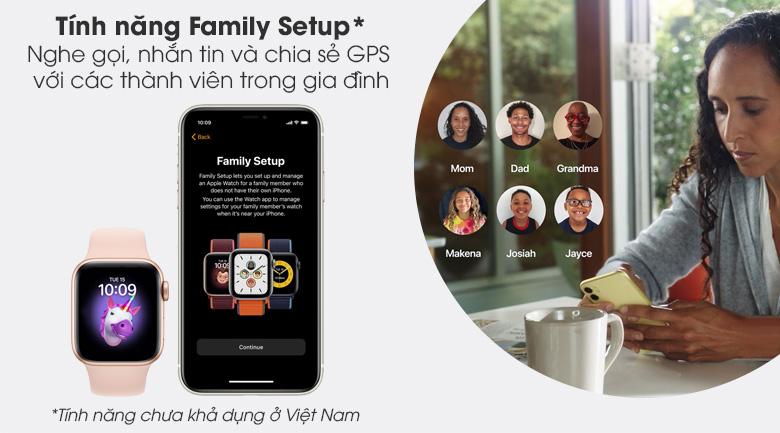 Apple Watch S6 có tính năng Family Setup
