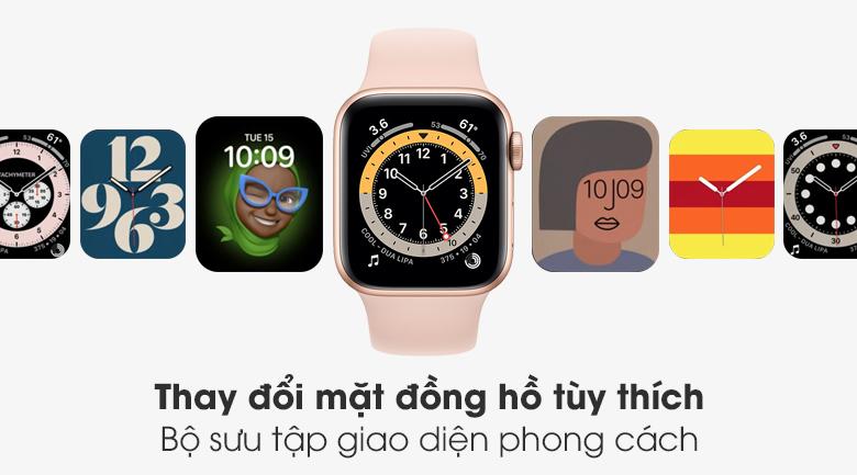 Apple Watch S6 bộ sưu tập giao diện đa dạng cho bạn thoải mái lựa chọn